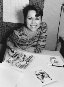 legendary illustrator and model Paula Meadows